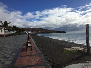 Fuerteventura, Promenade in Tarajalejo