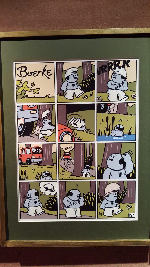 Boerke Comics haben einen zynischen Humor