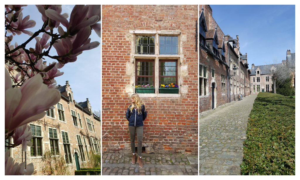 """Ein Spaziergang durch den """"Groot Begijnhof"""" von Leuven ist Balsam für die Seele"""