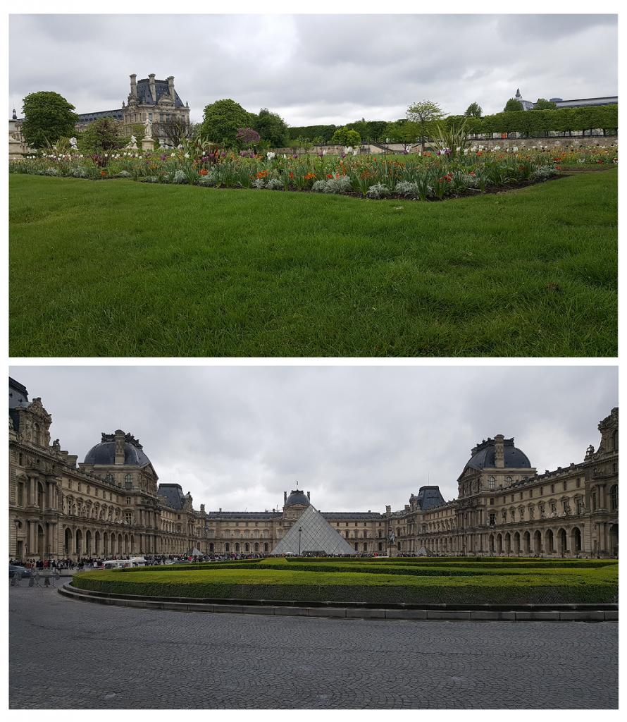 Bei einem Wochenende in Paris kommt man am Louvre natürlich nicht vorbei